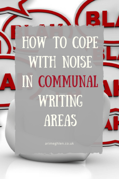 Banner - How to cope with noise in communal areas. Tips on what to do if you have to share space.