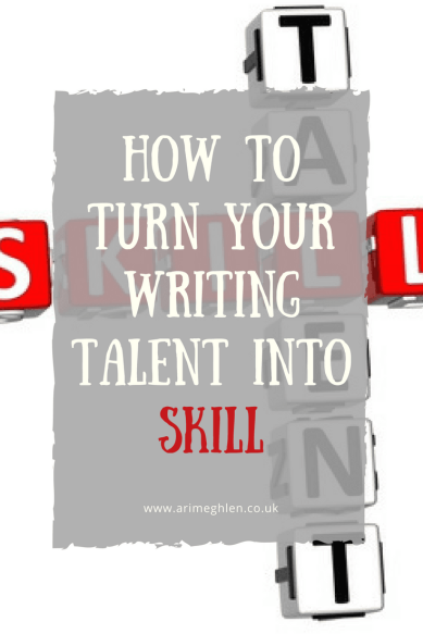 Banner How to turn your writing talent into skill