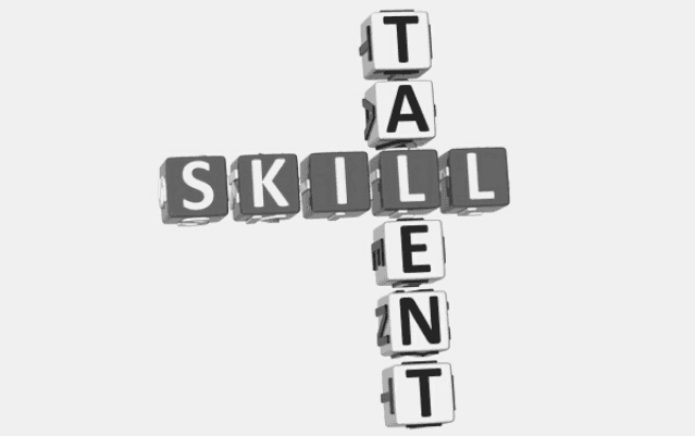 Featured Images - The words Talent and Skill intersecting at the L like a crossword puzzle. Image bought from Depositphotos