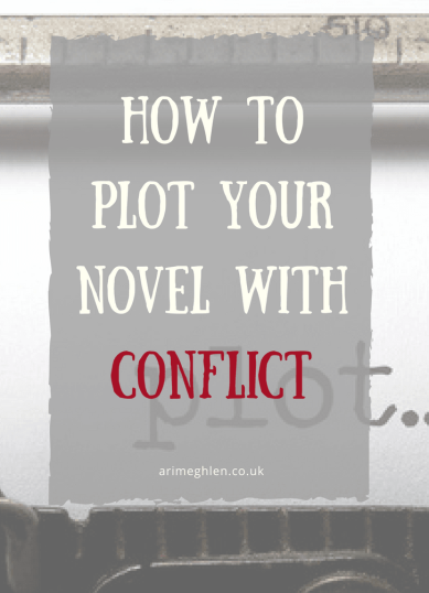 Banner How to plot your novel with conflict