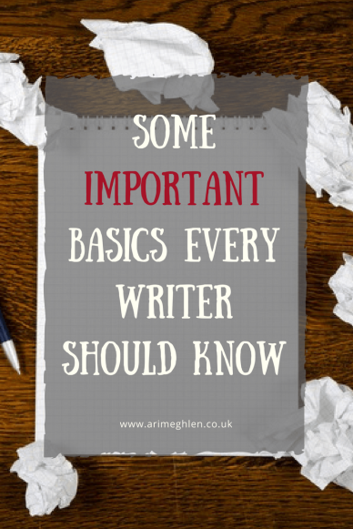 Banner some important basics every writer should know