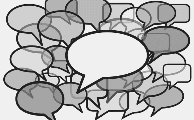 Featured Images - Vector image of a cluster of Speechbubbles. Image from DepositPhotos