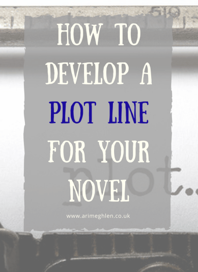 Banner how to develop a plot line for your novel