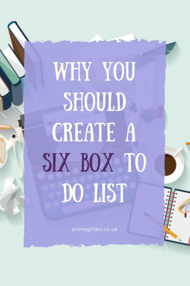 Banner - Why you should create a six box to do list