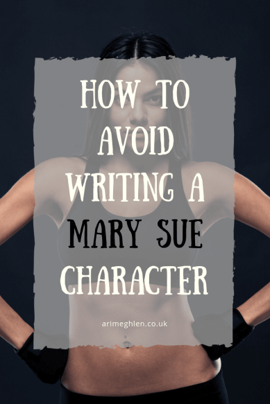 "Title Image: How to avoid writing a Mary Sye Character. Image: Attractive, fit woman symbolising the perfect ""Mary Sue"""