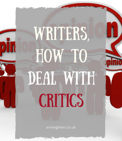 Writers, how to deal with critics. The type of critics you might meet as writers