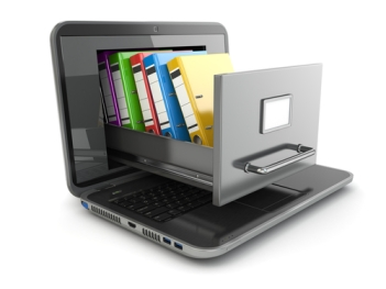 Computer file storage, computer file organization