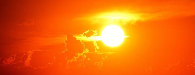 Sun, sunset photo.  Image from Pixabay