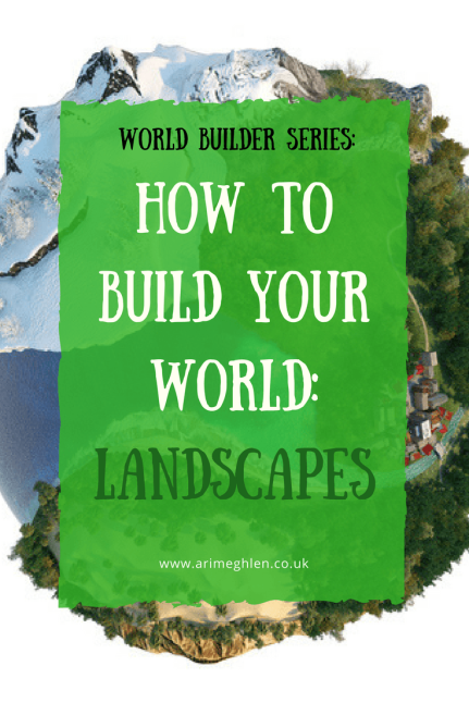Banner world builder series: How to build your world: Landscapes