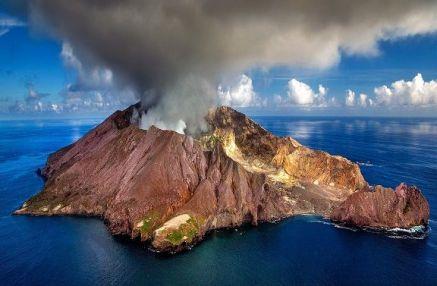 Volcano in New Zealand. Photo from Pixabay