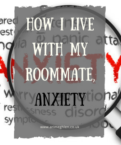 banner how i live with my roommate, anxiety