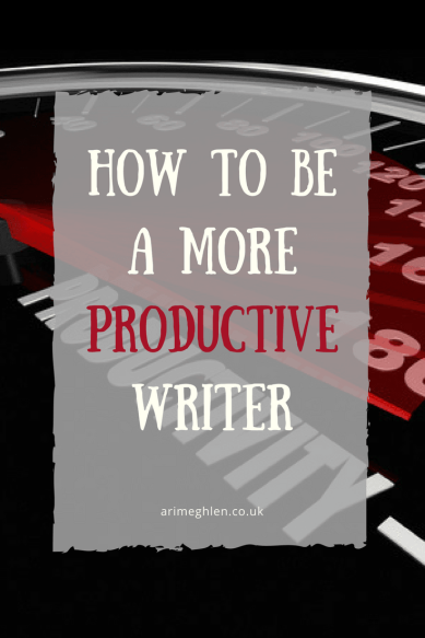 Banner - How to be a more productive writer