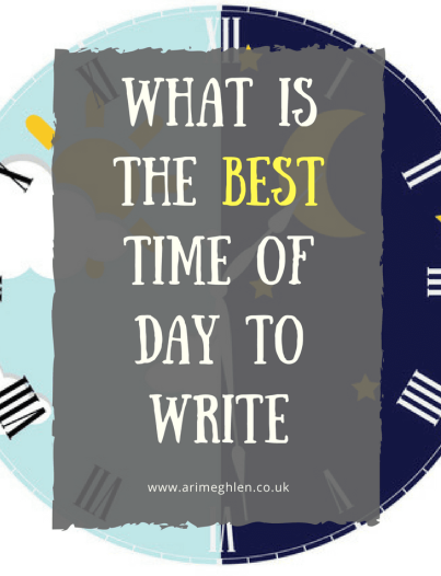 banner what is the best time of day to write