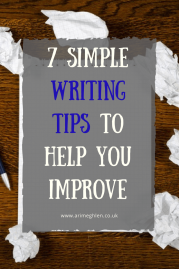 banner 7 simple writing tips to help you improve