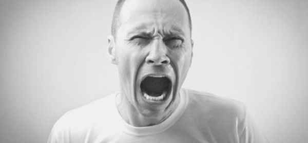 Featured Images - Photo of a man screaming. Image from DepositPhotos