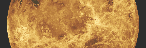 Planet Venus with its devastated atmosphere. Science. Surface of Venus. Image from pixabay