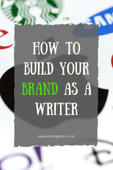 Title Image:  how to build your brand as a writer, several company logos
