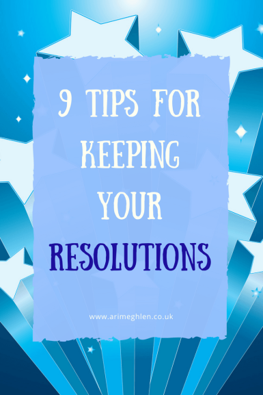 banner 9 tips for keeping your resolutions