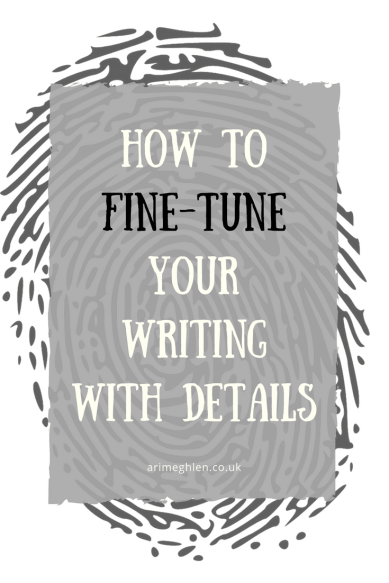 Banner How to fine-tune your writing with detail