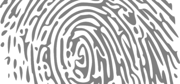 Featured Images - Close up of a vector image fingerprint. Image from Pixabay