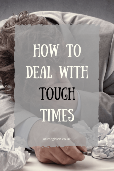Banner - How to deal with tough times. Dealing with tough times. Dealing with burn-out