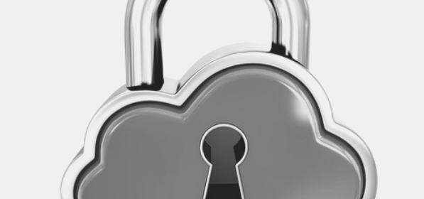 Featured Image - Avoid a meltdown, save your work on a Cloud storage. Image of a padlock in the shape of a cloud