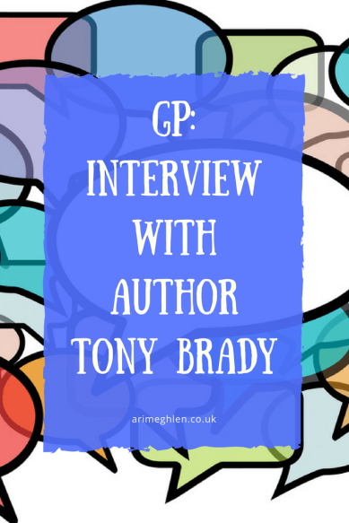 Guest post: Interview with author Tony Brady