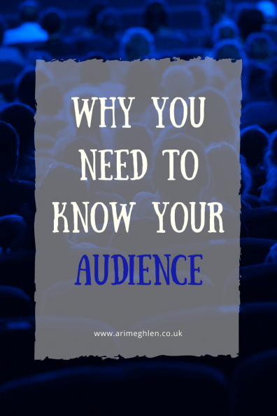 Banner why you need to know your audience, people in a cinema