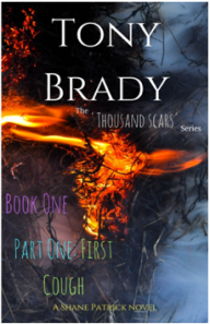 Book cover for The Thousand Scars series