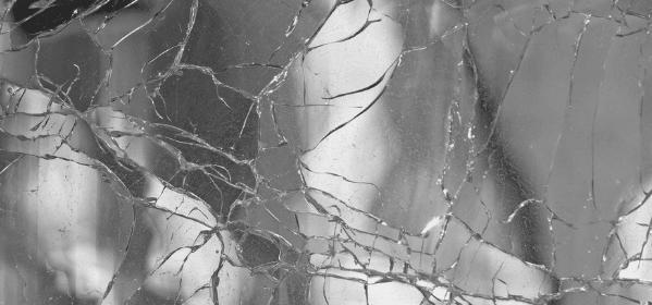 Featured Images - Broken glass, fractured mirror