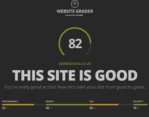 website grader image