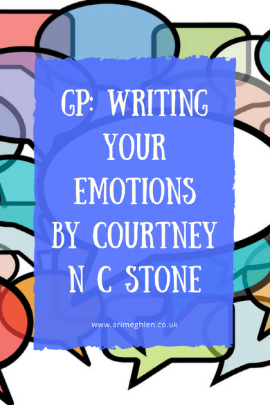Banner Writing your emotions by Courtney NC Stone
