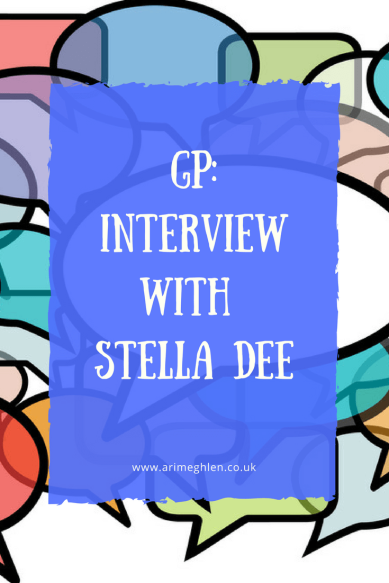 Banner guest post interview with author stella dee