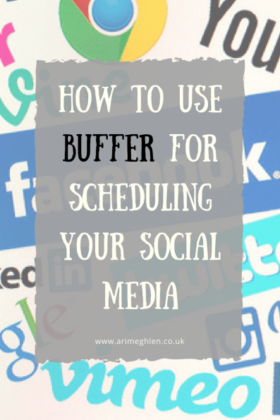 Banner how to use Buffer for scheduling your social media