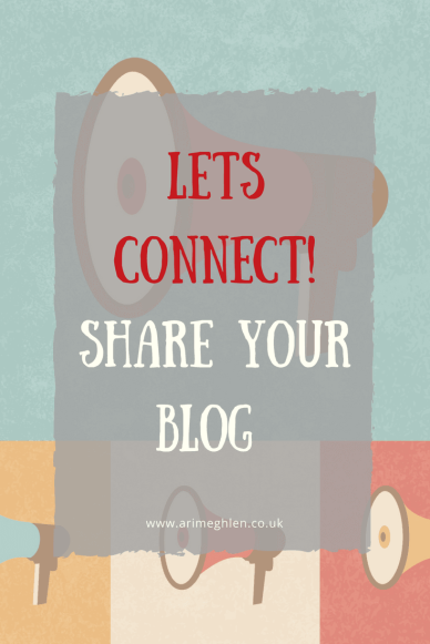 Let's connect! Share your blog