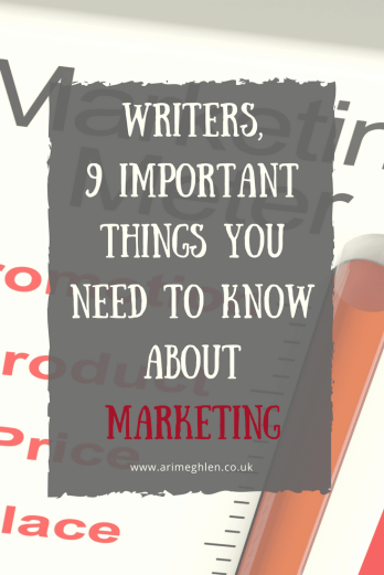 Banner - Writers, 9 important things you need to know about marketing your book and yourself