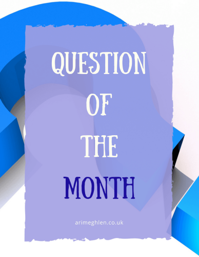 Banner - Question of the Month : March