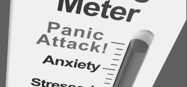 Featured Images - Image of a Stress Meter with Panic Attack at the top, Anxiety below that and Stressed below that. Image from Pixabay