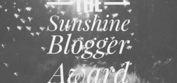 Featured Images - Photo of a sunny day with the words The Sunshine Blogger Award.