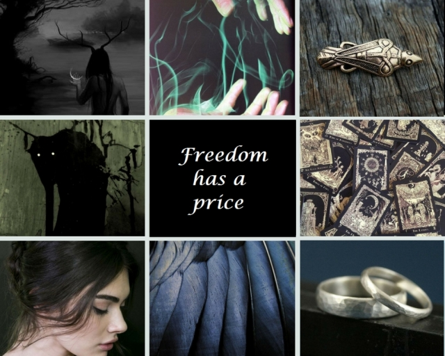 Book aesthetic for The Blessed by Ari Meghlen. Fantasy book aesthetic The Blessed by Ari Meghlen.