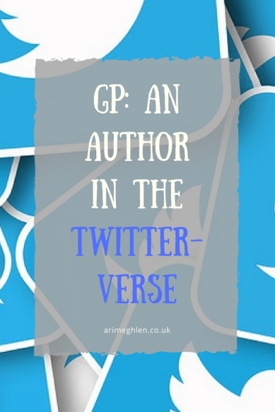 Banner - Guest post: An Author in the Twitterverse by Jackie Baldwin