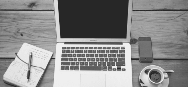 Featured Images - Laptop, notepad and coffee cup on a desk. Image from Pixabay