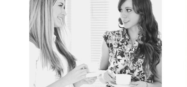 Featured images - Two women sharing coffee and talking