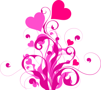 image heart flourish graphic