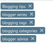 Image of blog tags