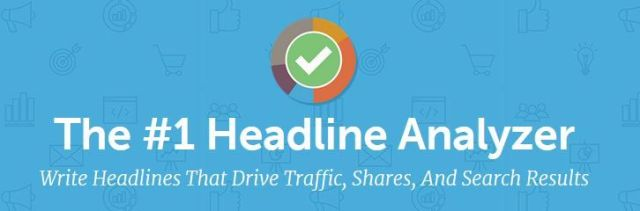 The number 1 Headline Analyzer from CoSchedule.com. Write headlines that drive traffic, shares and search results.