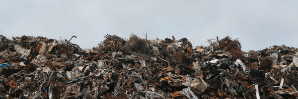 Image: Landfill full of waste and garbage