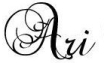 Signature & logo of Ari Meghlen