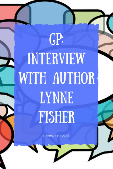 Title Image: Guest post: Interview with author Lynne Fisher.  Image: Graphic of speechbubbles