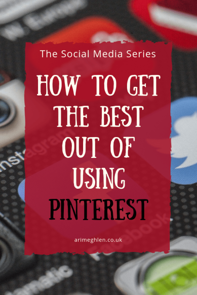 Title Image: The Social Media Series: How to get the best out of using Pinterest. Image: Social media icons